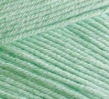 Пряжа BELLA Alize 266 зеленый (мята)