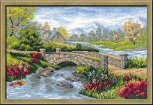 Набор для вышивания Риолис 1078 «Летний пейзаж» 26х38 см
