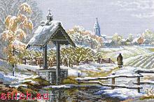 Набор для вышивания Риолис 1009 «Первый снег» 26х38 см
