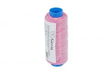 Нить-резинка Gamma , 157 розовый, 25 м