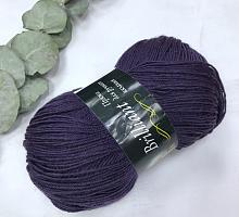 Пряжа Vita Brilliant, цвет 4977 темно-фиолетовый