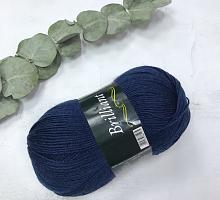 Пряжа Vita Brilliant, цвет 4990 темно-синий