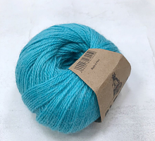 Альпака Силк (Alpaca Silk) 3743 яркая бирюза