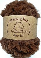 Пряжа Fancy fur (Фанси фе), цвет 62 каштан