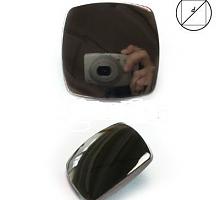 Пуговица 25мм металл на ножке черный никель
