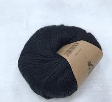 Альпака Силк (Alpaca Silk) 500  черный