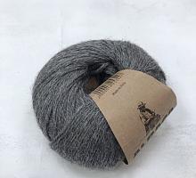 Альпака Силк (Alpaca Silk) 435 серый меланж