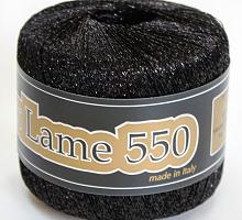 Lurex Lame 550 (Люрекс Ламе 550) -904 -  черный гематит