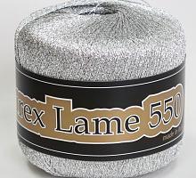 Lurex Lame 550 (Люрекс Ламе 550) -900 - античное серебро