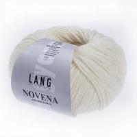Пряжа Novena with Baby Alpaca цвет 0094 белый