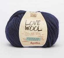 Пряжа Love Wool, цвет 121 синий