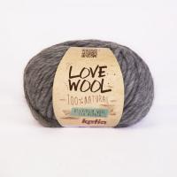 Пряжа Love Wool, цвет 106 серый