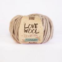 Пряжа Love Wool, цвет 101 молочно-бежевый