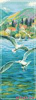 Набор для вышивания Риолис 1022 «Морской полдень» 21х46 см