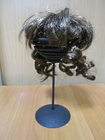 Парик для кукол с локонами брюнет