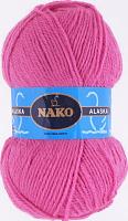Пряжа ALASKA Nako, цвет 7107 ярко-розовый