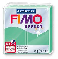 Полимерная глина FIMO «EFFECT» цвет зеленый нефрит