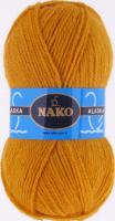Пряжа ALASKA Nako, цвет 7105 золотистый
