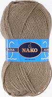 Пряжа ALASKA Nako, цвет 7106 хаки