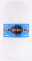 Пряжа ALASKA Nako, цвет 7101 белый