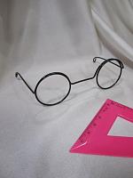 Очки без стекла металлические