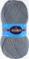 Пряжа ALASKA Nako, цвет 7116 серый