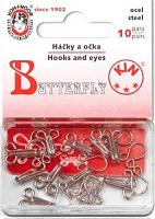 Крючки плательные KOH-I-NOOR 30 (6001 №4) цвет никель 10 шт.