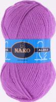 Пряжа ALASKA Nako, цвет 7109 цикломен