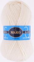 Пряжа ALASKA Nako, цвет 7103 суровый