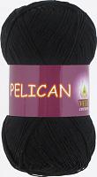 Пряжа Vita cotton Pelican  цвет 3952 черный