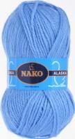 Пряжа ALASKA Nako, цвет 7113 голубой