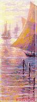 Набор для вышивания Риолис 1021 «Розовое море» 21х46 см