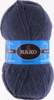 Пряжа ALASKA Nako, цвет  7114 джинсовый