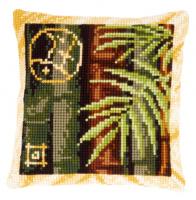"""Подушка """"Бамбук II"""" набор для вышивания"""