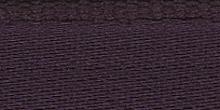Молния RIRI металл. GO, 6 мм, 16 см, на атласной тесьме, 1 замок неразъемный, FLASH, цвет 2510 темно-фиолетовый