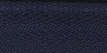 Молния RIRI ТОП-СТАР металл неразъемная, 3 мм, 18 см, тип подвески TROPF, цвет цепи Ni, цвет 2626 темно-синий