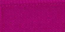 Молния RIRI металл. GO, 6 мм, 16 см, на атласной тесьме, 1 замок неразъемный, FLASH, цвет 9407 малиновый