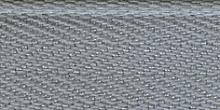 Молния RIRI ТОП-СТАР металл неразъемная, 3 мм, 18 см, тип подвески TROPF, цвет цепи Ni, цвет 2118 светло-серый