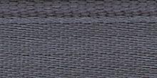 Молния RIRI металл. GO, 4 мм, 16 см, на атласной тесьме, 1замок разъемн., FLASH серый стальной