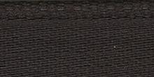 Молния RIRI металл. GO, 4 мм, 16 см, на атласной тесьме, 1замок разъемн., FLASH темно-коричневый