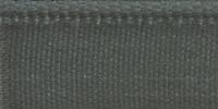 Молния RIRI металл. NI, 6 мм, 18 см, на атласной тесьме, 1 замок неразъемный, тип подвески FLASH, цвет 5884 серо-зеленый