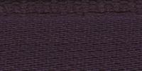 Молния RIRI металл. GO, 6 мм, 18 см, на атласной тесьме, неразъемн., тип подвески FLASH, цвет 2510 темно-фиолетовый