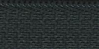 Молния RIRI ТОП-СТАР металл неразъемная, 3 мм, 18 см, тип подвески TROPF, цвет цепи Ni, цвет 2723 темно-зеленый
