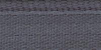 Молния RIRI металл. GO, 6 мм, 18 см, на атласной тесьме, неразъемн., тип подвески FLASH, цвет 2121 серый стальной