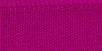 Молния RIRI металл. GO, 6 мм, 18 см, на атласной тесьме, неразъемн., тип подвески FLASH, цвет 9407 малиновый