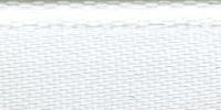 Молния RIRI металл. GO, 6 мм, 18 см, на атласной тесьме, неразъемн., тип подвески FLASH, цвет 2101 белый