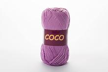 Пряжа Vita cotton COCO цвет 3869 бледно-сиреневый