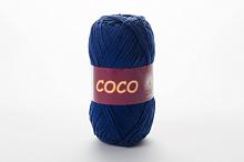 Пряжа Vita cotton COCO цвет 3857 джинсовый
