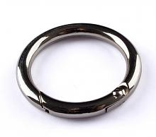 Кольцо-карабин № 7 никель