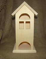 Чайный домик дерево, 13,5х12х27 см